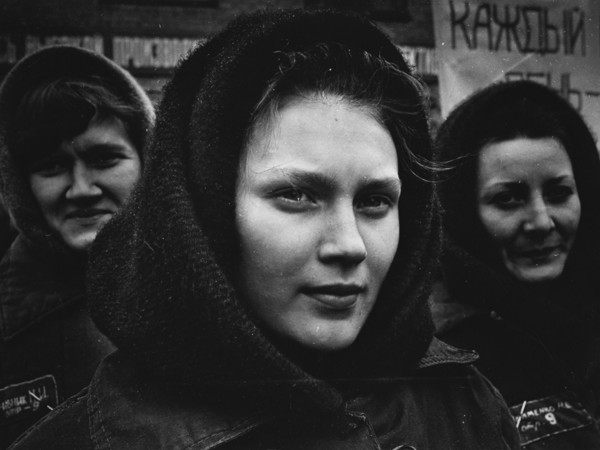 Sergej Vasiliev, Ritratto di giovane detenuta, 1980 ca.