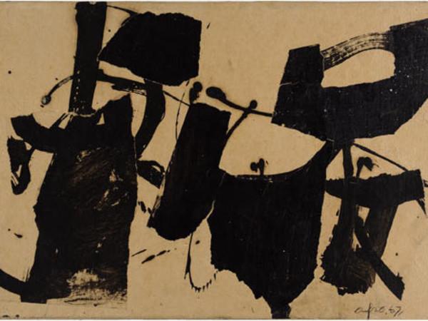 Afro, T.M. su tela, 1967