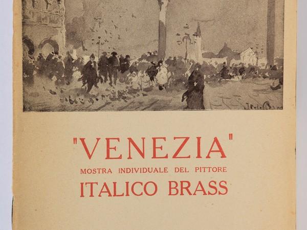 Mostra individuale del pittore Italico Brass