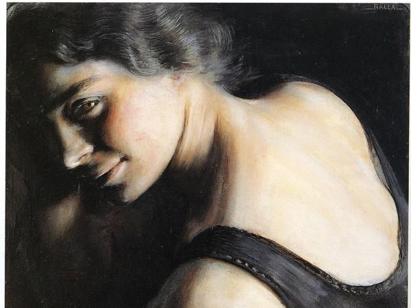 Giacomo Balla, Il dubbio, 1907-1908, Olio su carta, Roma, Galleria d'Arte Moderna   Courtesy of Galleria d'Arte Moderna, Roma