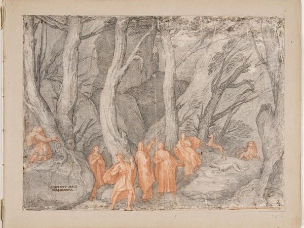 Federico Zuccari, Inferno, La selva oscura