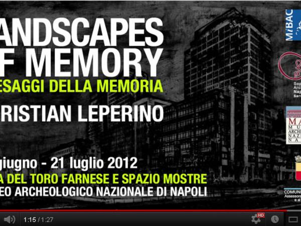 Christian Leperino, Landscapes of Memory / Paesaggi della Memoria, Museo Archeologico Nazionale, Napoli