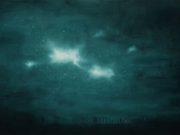 Ernesto Morales, Nebulose, 2013, olio su tela, cm100x150