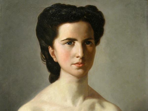 Luigi Busi, Ritratto femminile, Collezione privata