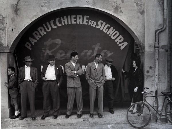 Nino Migliori, Da &quot;Gente dell&rsquo;Emilia&quot;<em>,</em> Stampa fotografica su carta baritata, 1957 | &copy; Nino Migliori | Courtesy of GAM, Torino 2018<br />