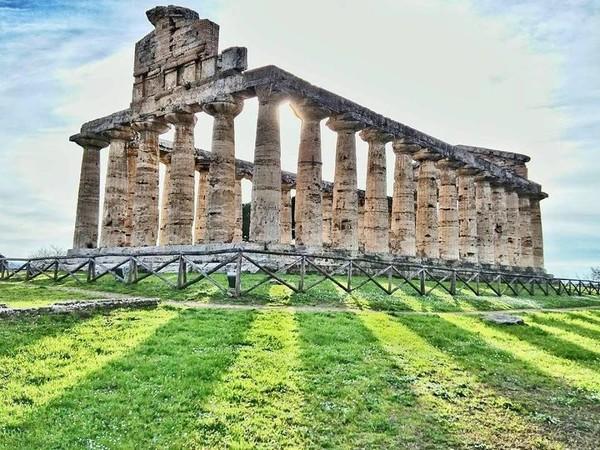 <span>Tempio di Athena, Parco Archeologico di Paestum</span>