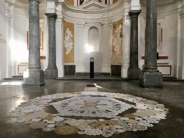 <em>Epiphany</em>, Chiesa di Sant&rsquo;Andrea degli Aromatari, Palermo a cura di Rosa Cascone, 2018