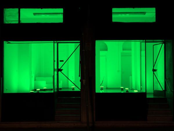 Light Mood, installazione di Vittorio Corsini, Spazio Lanterna del Museo della Città di Livorno