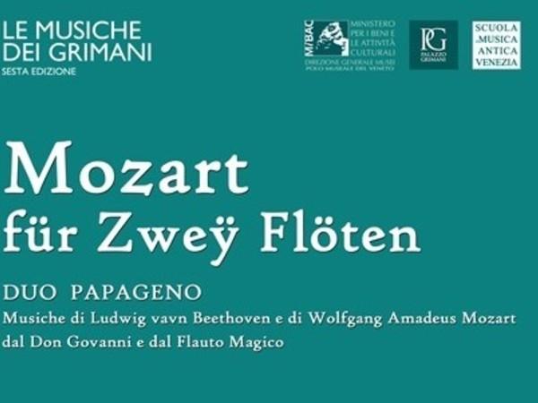 Mozart für Zweÿ Flöten, Museo di Palazzo Grimani, Venezia