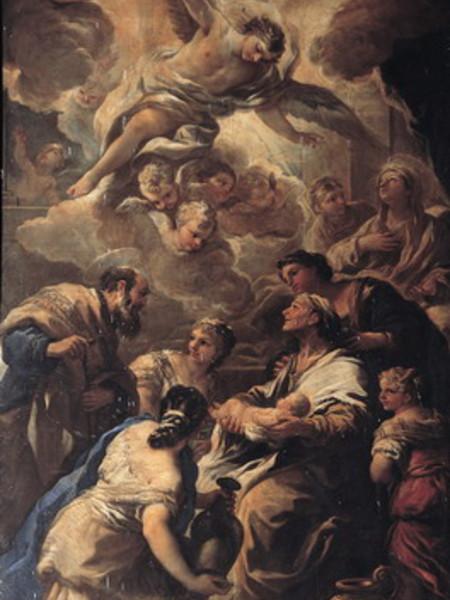 Natività di Maria, Presentazione al Tempio, Adorazione dei Pastori e il Sogno di Giuseppe