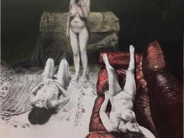 """Opera dalla mostra """"Eros, dal mito al contemporaneo"""", Museo Archeologico Regionale di Gela"""