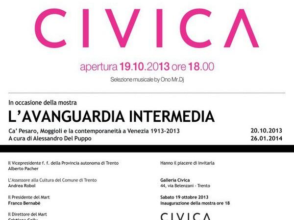 Ca' Pesaro, Moggioli e la contemporaneità a Venezia 1913-2013, Galleria Civica, Trento