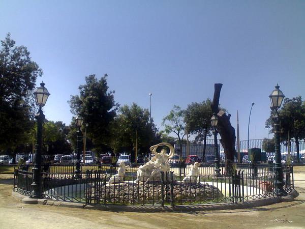Fontana con il Ratto di Europa