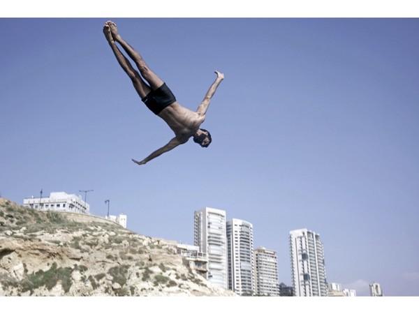 Flying Boys by Tamara Abdul Hadi Poster