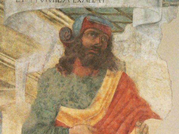 Donato Bramante, Il filosofo Chilone, 1477. Palazzo della Ragione, Bergamo