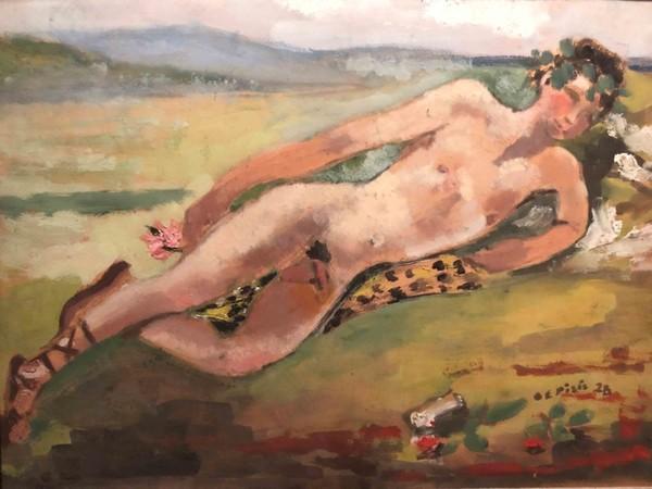 Filippo de Pisis, Il bacchino, 1928
