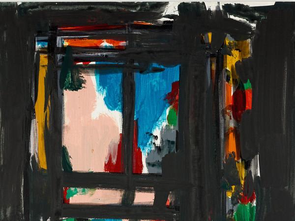 Günther Förg, Untitled, 2005. Acrylic on MDF, 55x45 cm.