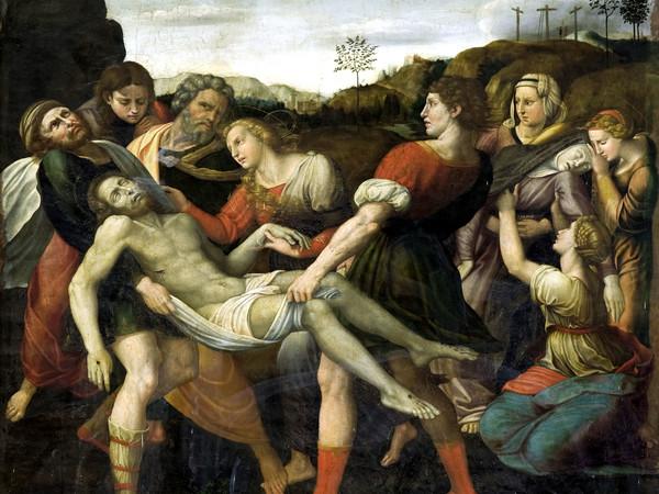 Orazio Alfani,<em> Deposizione</em>, Perugia, Oratorio di San Bernardino