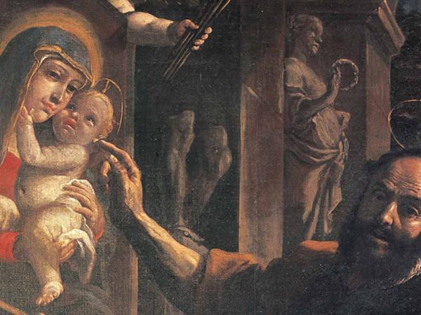 Mattia Preti. San Luca dipinge la Madonna con il Bambino, Accademia Nazionale di San Luca, Roma
