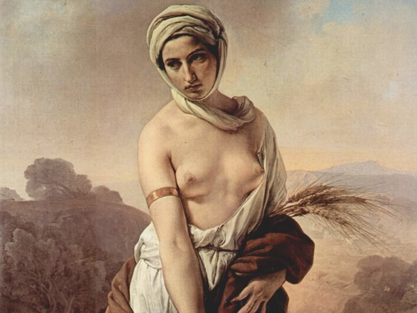 Francesco Hayez, <em>Ruth</em>, 1835<br />