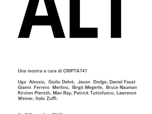Alt. Mostra collettiva a cura di Cripta 747, Torino