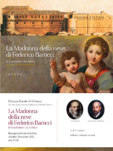 La Madonna della neve di Federico Barocci