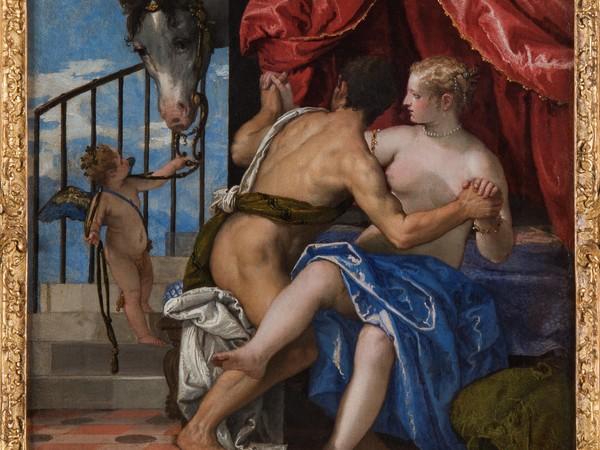 Paolo Caliari, detto il Veronese, Marte, Venere con Cupido e un cavallo