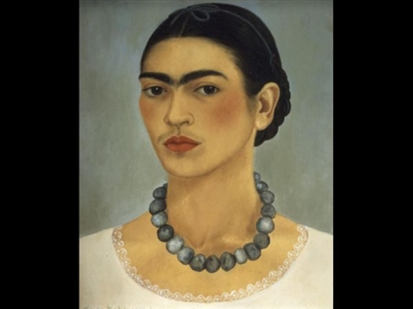 Frida Kahlo, Self-portrait with Necklace, 1933