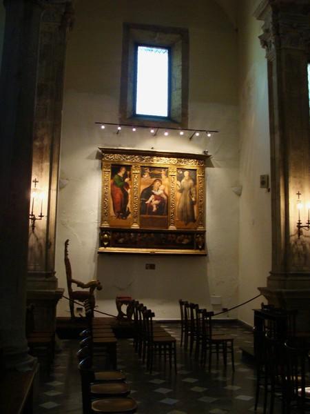 Trittico con La Madonna e il Bambino, la Maddalena e Sant'Antonio