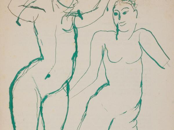 Antonietta Raphaël, Nudi, 1965, inchiostro