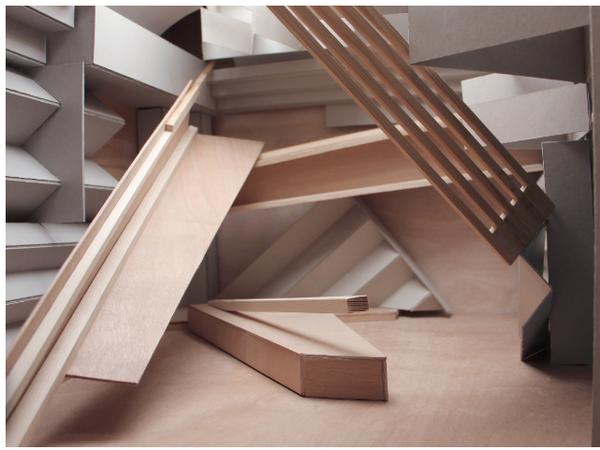 Xavier Veilhan, <em>Studio Venezia Model</em> <em>(Particolare)</em> | &copy; Veilhan / ADAGP, Paris, 2017<em><br /></em>