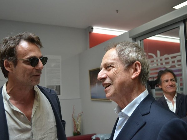 Ettore de Conciliis con Alessandro Preziosi