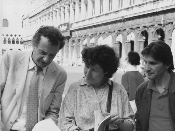 G. Ossola, M. De Stasio e A. Ghinzani, Venezia 1982