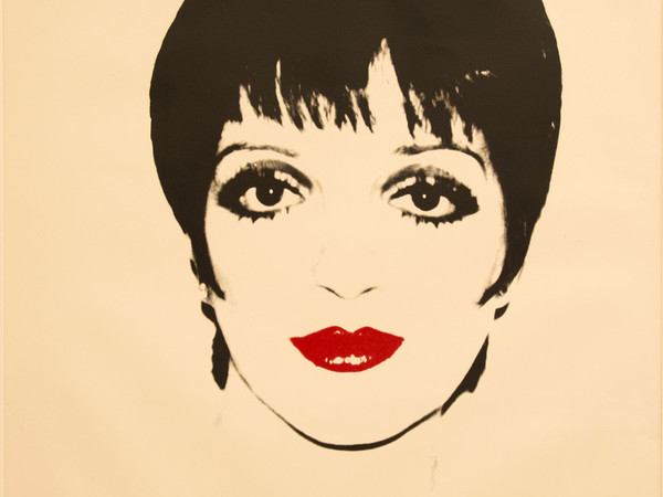 Andy Warhol, Liza Minelli, 1978. Screenprint on paper, 121.9x111.7cm.