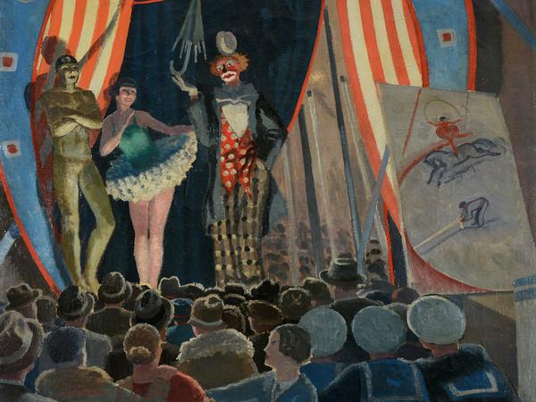 Oscar Saccorotti, Il circo equestre, 192, Olio su tela, Collezione Privata   Courtesy Galleria Novecento, Genova