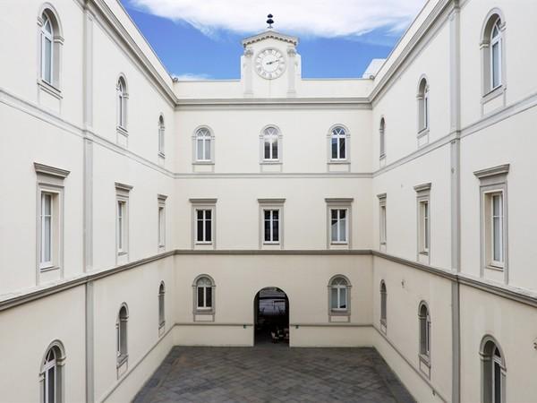 Museo MADRE, Napoli. Cortile interno