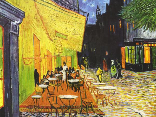 Vincent van Gogh, Terrazza del caffè la sera, Place du Forum, Arles, 1888, Olio su tela, 65.5 x 81 cm, Otterlo, Kröller-Müller Museum