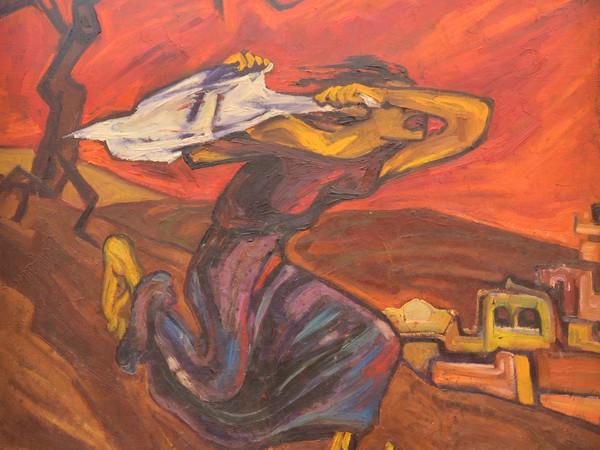Valeria Costa, La Veronica, 1980 circa, olio su tela, 70x100cm