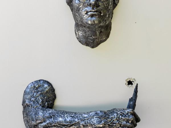 Matteo Pugliese, La Spina, 2010, alluminio, 240x135x43 cm