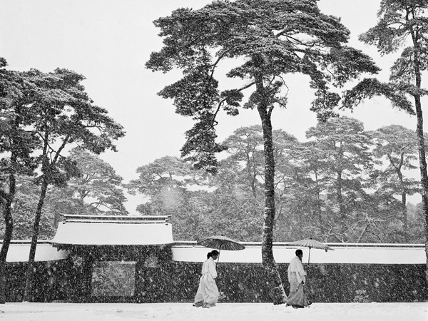 <span>Werner Bischof, <em>Japan, Tokyo. Courtyard of the Meiji Shrine</em>, 1951, Particolare | &copy; Werner Bischof / Magnum Photos<br /></span>