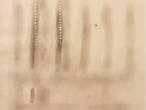 Fausto Melotti, Senza titolo, 1979, matita e tempera