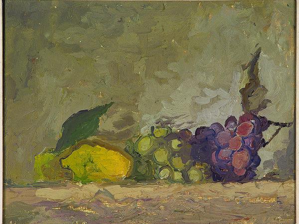 Osvaldo Licini, Natura morta con uva, 1927. Museo Novecento, Firenze