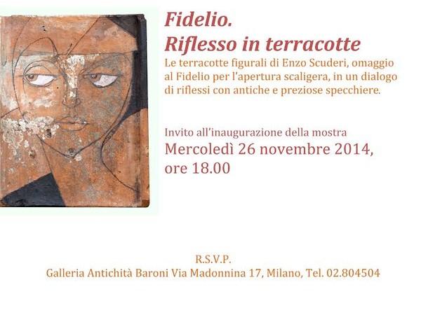 Fidelio. Riflesso in terracotte, Galleria Antichità Baroni, Milano