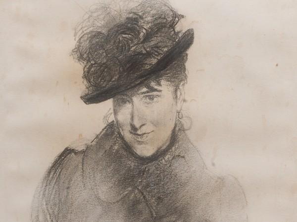 Giovanni Boldini, <em>Ritratto di Madame de Bouligny</em>, 1882, Matita su carta, 35 x 47 cm<br />