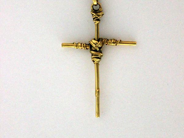 Emilio Scanavino, croce gioiello, Galleria Melesi, Lecco