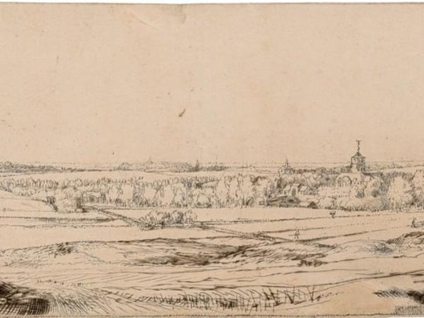 Una veduta di Rembrandt