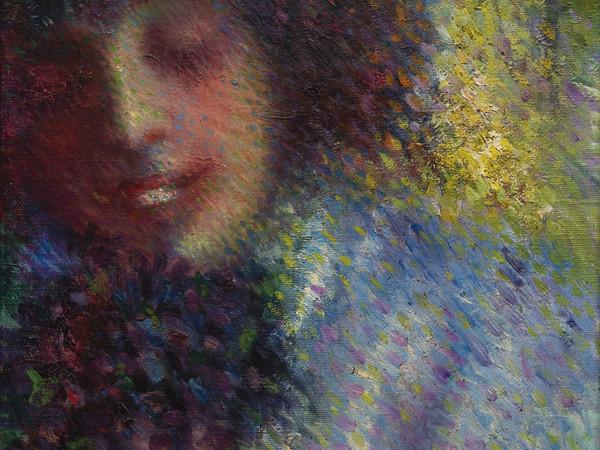 Francesco Trombadori, Senza titolo, 1910 ca, olio su tela, cm. 34x29