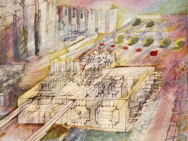 Franco Purini,<em> Città in costruzione</em>, 1966 | Courtesy of Franco Purini e SBD Archivio Progetti