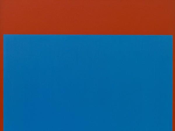 Ellsworth Kelly, <em>Rosso Blu</em>, 1964 | Courtesy of Fondazione Solomon R. Guggenheim | &copy; Collezione Hannelore B. e Rudolph B. Schulhof, Lascito Hannelore B. Schulhof 2012 | &copy; Ellsworth Kelly<br />