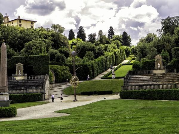 Giuseppe penone prospettiva vegetale mostra firenze forte di belvedere giardino di - Giardino di boboli firenze ...